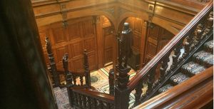 Interior staircase of Two Temple Place