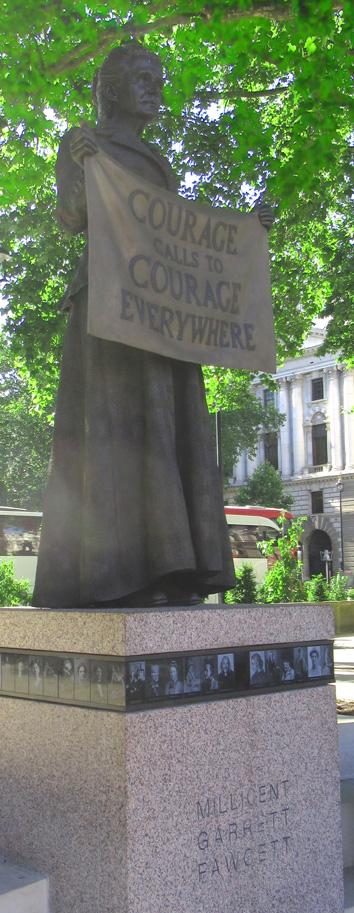 Millicent Fawcett statue, Parliament Square
